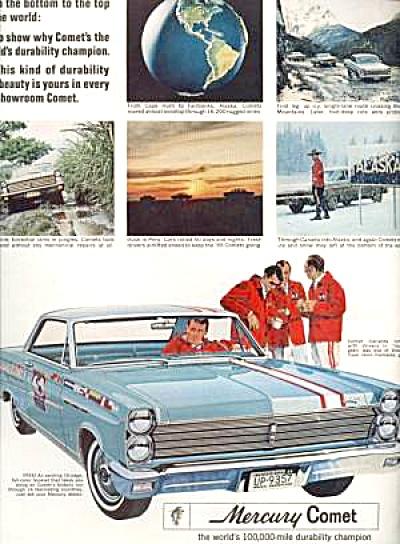 1965 MERCURY COMET Ad (Image1)