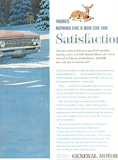 1961 PINK CADILLAC SEDAN DE VILLE Ad (Image1)