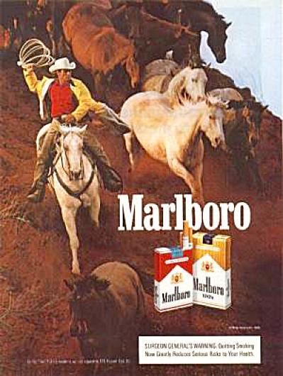 1988 MARLBORO HORSES Ad (Image1)