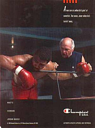 1989 CHAMPION BOXER Ad (Image1)