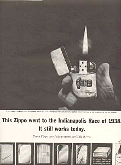 ZIPPO LIGHTERS AD (Image1)