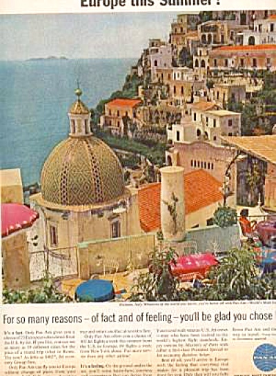 PAN AM AIRLINES EUROPE AD (Image1)