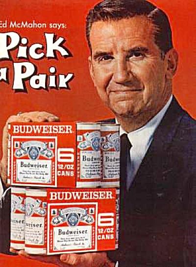 1964 BUDWEISER ED McMAHON Ad (Image1)