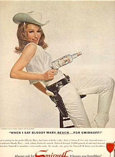 SMIRNOFF JULIE NEWMAR Ad (Image1)