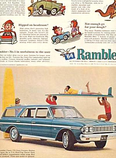 1964 AMERICAN RAMBLER CLASSIC Ad (Image1)