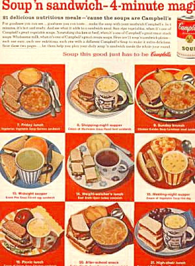 1964 Campbell's Soup Ad
