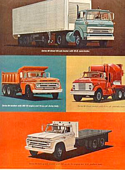 1964 CHEVROLET SERIES 80 TRUCK Ad (Image1)