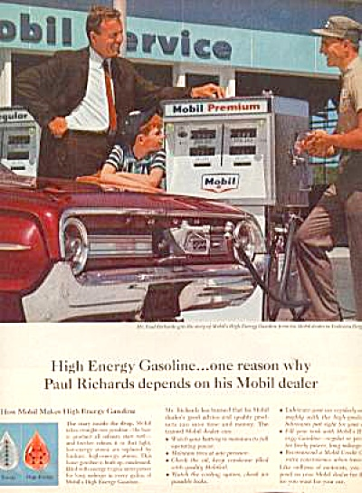 MOBIL SERVICE STATION Ad (Image1)