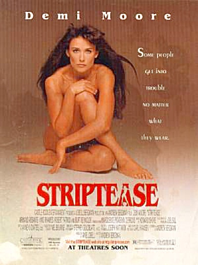 1988 Demi Moore STRIPTEASE Ad (Image1)