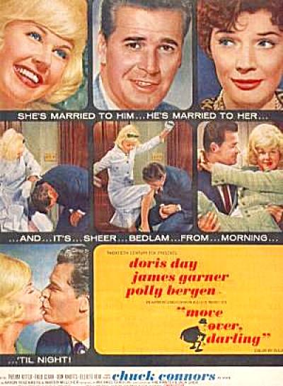 1963 Doris Day James Garner Polly Bergen Ad (Image1)