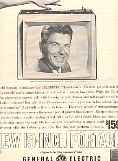 1961 General Electric Ronald Reagan Ad (Image1)
