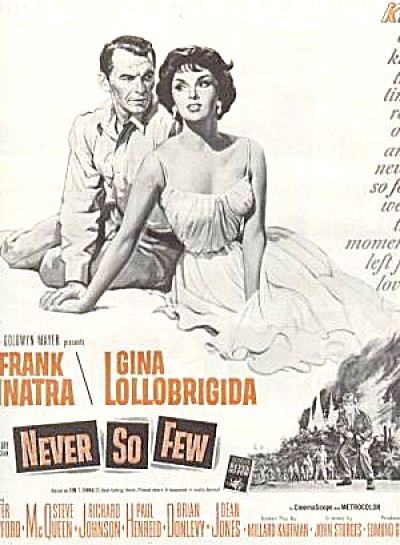 Frank Sinatra Gina Lollobrigida Never So Few