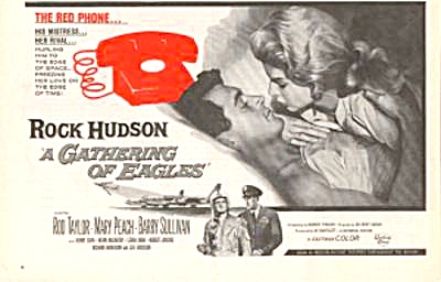 Rock Hudson Gathering Of Eagles Movie Ad