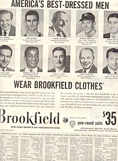 Brookfield Clothe Sammy Davis Jr. aD (Image1)