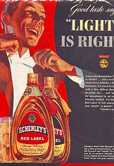 1939 Schenley's Red Label Blended Whiskey Ad (Image1)