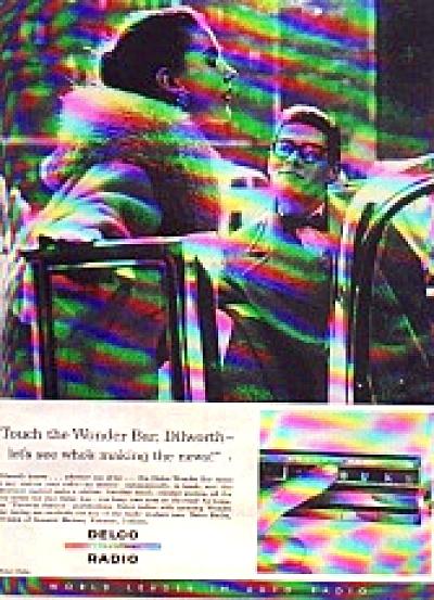1956 Delco Radio Ad (Image1)