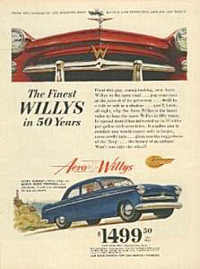 1953 Aero Willys Lark Car AD (Image1)