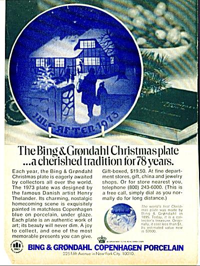 Bing & Grondahl, Copenhagen Porcelain AD (Image1)