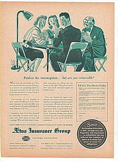 Aetna Insurance Group ad 1947 (Image1)
