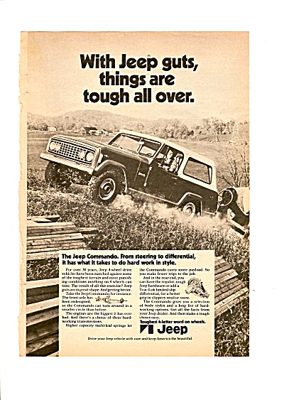 Jeep Commando ad 1972 (Image1)
