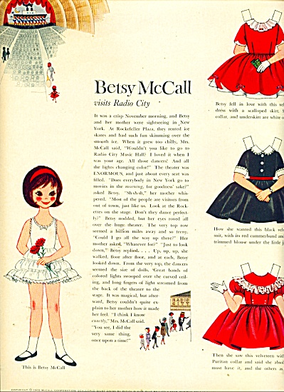 Betsy McCall doll and outfit - 1960 (Image1)