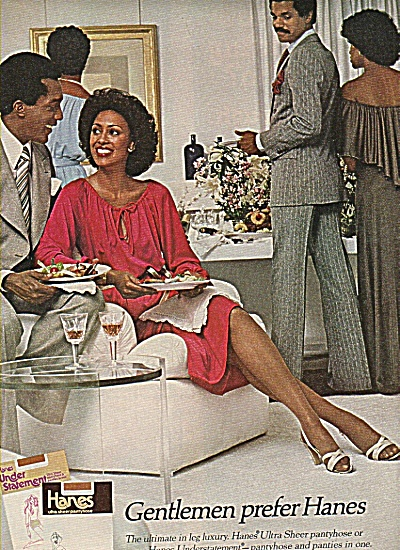 Hanes pantyhose ad 1977 (Image1)