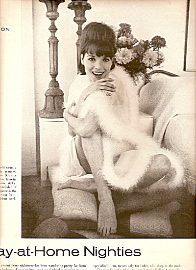 Stay at Home NIGHTIES - ELSA MARTINELLI - 1962 (Image1)