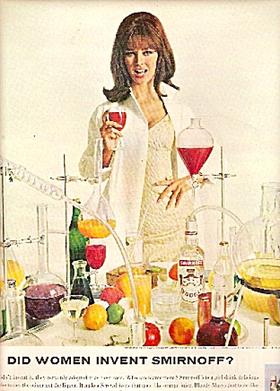 Smirnoff Vodka ad -  1965 Great Model (Image1)