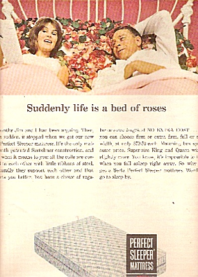 Serta perfect sleeper mattress ad 1965 (Image1)