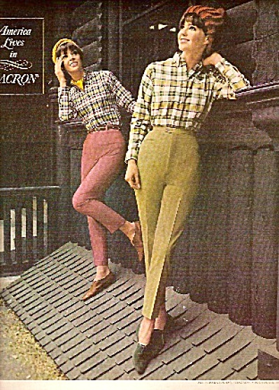Dupont dacron clothes ad 1965 - Fashion Models (Image1)