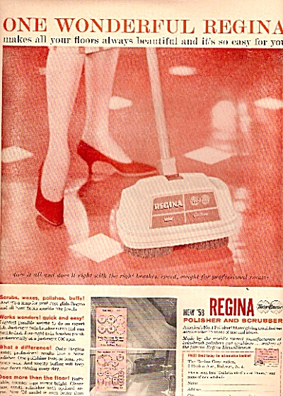 Regina polisher and scrubber - 1958 (Image1)