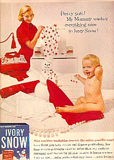Ivory Snow soap ad 1958 (Image1)