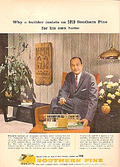 Southern Pine ad 1958 BUILDER WOOD (Image1)