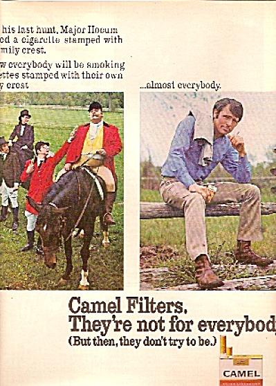 Camel cigarettes ad - 1972 (Image1)