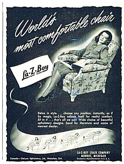 1948 La-Z-boy Recliner Ad (Image1)