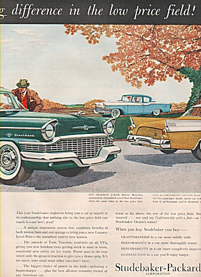 Studebaker auto for 1957 ad (Image1)