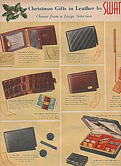 Swank leather gifts ad 1956 (Image1)