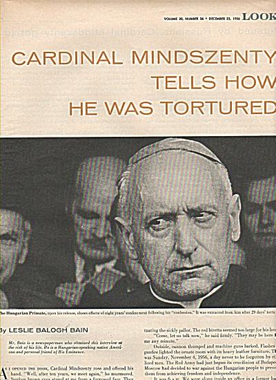 CARDINAL MINDSZENTY  tortured story 1956 (Image1)