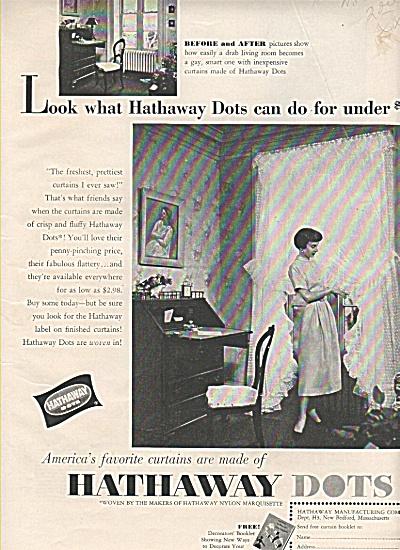 Hathaway dots ad 1950 (Image1)