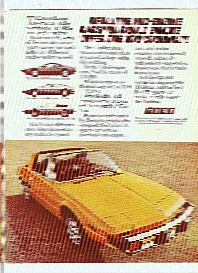 Fiat Automobile Ad 1977