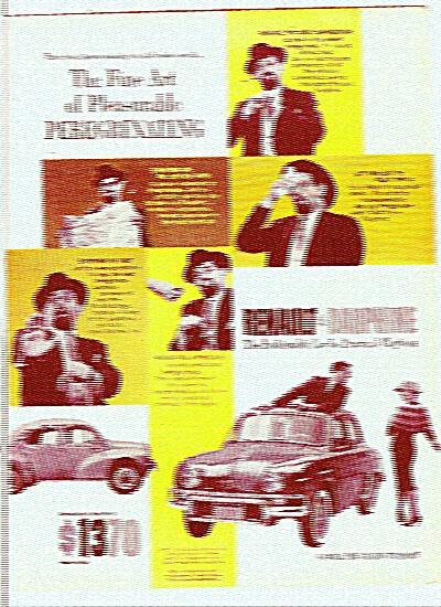 Renault Dauphine automobile 1959 (Image1)