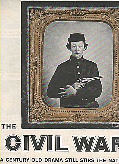 The Civil War Story Article 21 Pages - Part I 1961