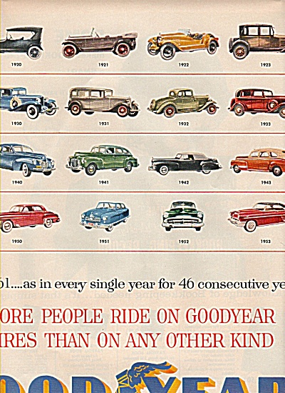 Goodyear tire ad  1961 (Image1)
