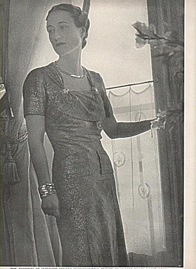 DUCHESS OF WINDSOR  pictdure 1937 (Image1)
