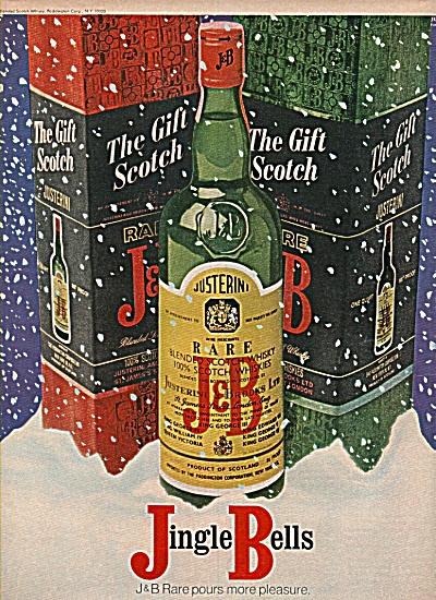 J & B scotch whisky ad 1970 (Image1)