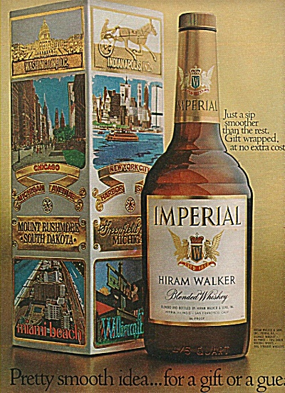 Imperial - Hiram Walker whiskey ad 1970 (Image1)
