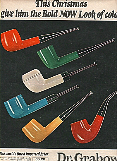 Dr. Grabow pipes ad  1970 (Image1)