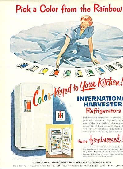 International Harvesterrefrigerator ad 1951 (Image1)