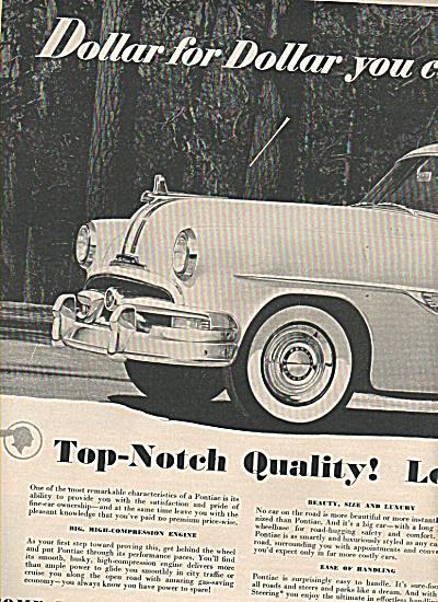 Pontiac automobile ad 1953 (Image1)