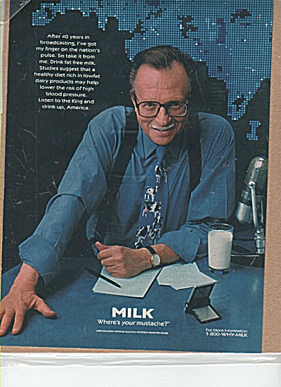 GOT MILK? Larry King Where's Your MUSTACHE AD (Image1)